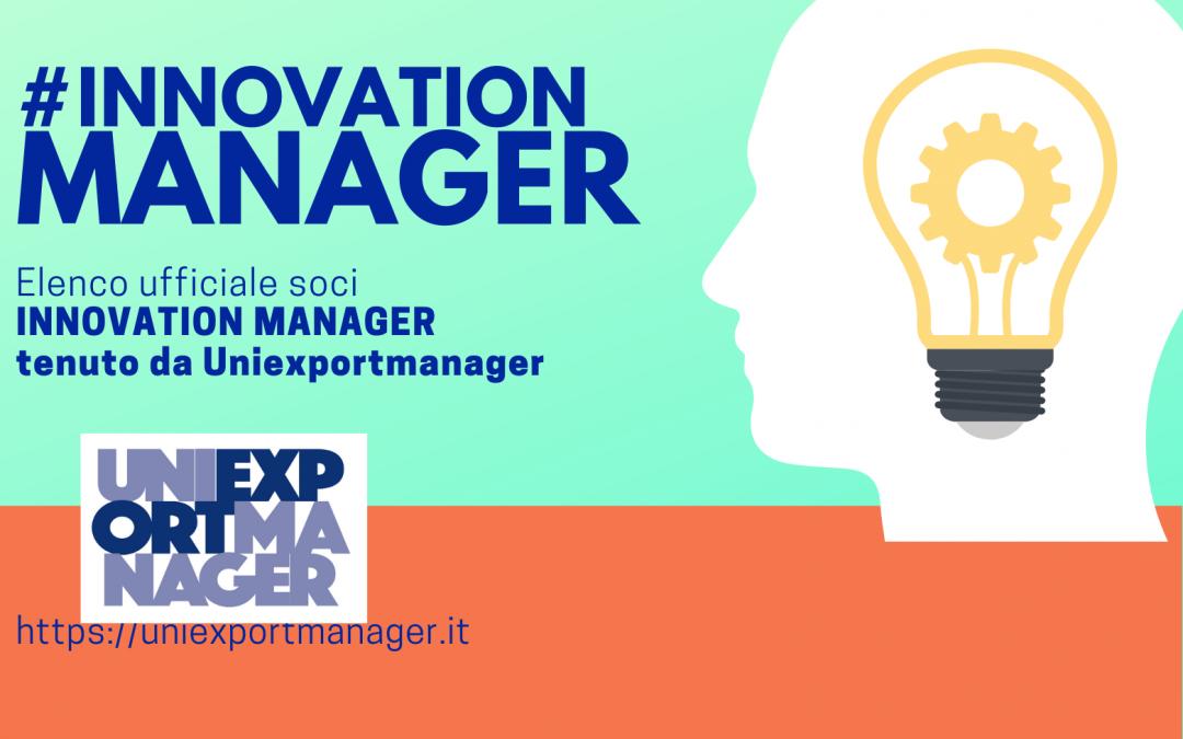 L'innovazione aiuta l'export: 39 soci Uniexportmanager accreditati Innovation manager