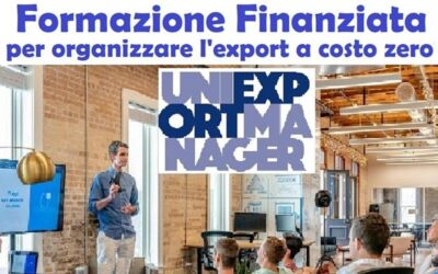 Export e Formazione Finanziata: AGGIORNAMENTI importanti