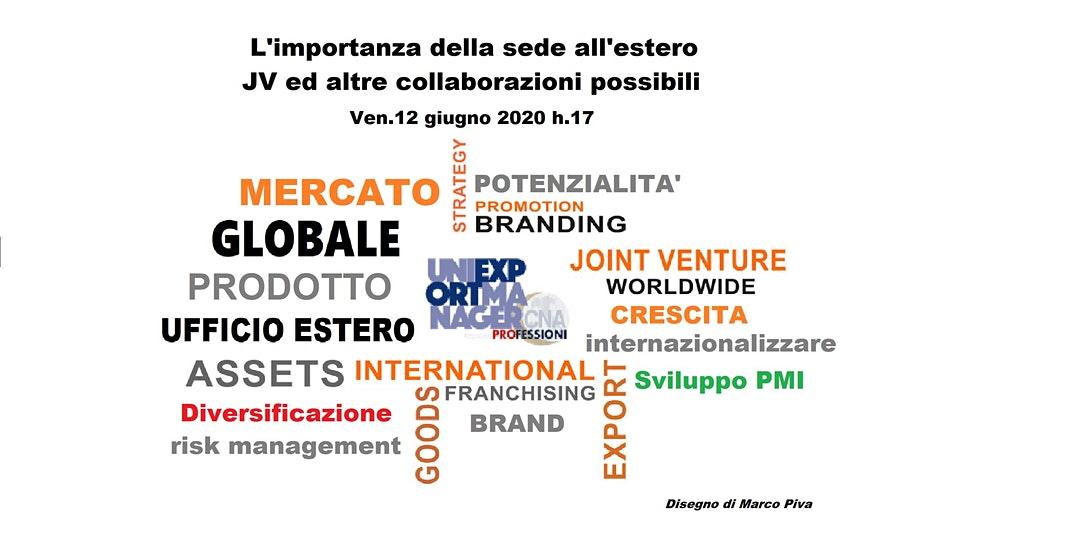 Digital talk 12giugno: Internazionalizzazione, L'ExportRisponde, UniexportEducation