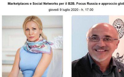 Marketplaces e Social Networks per il B2B. Focus Russia e approccio globale